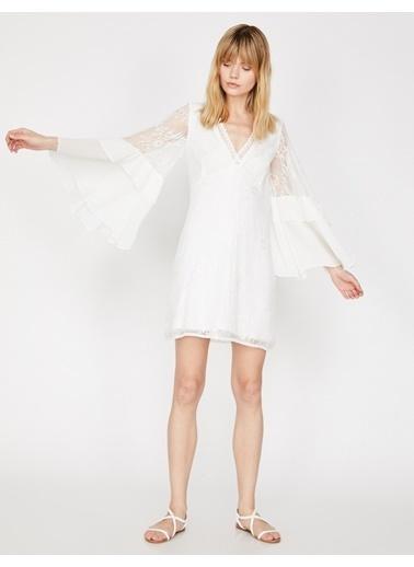 Koton Elbise Beyaz